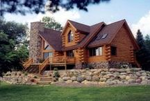 Log Cabin Homes / Did you know that you could search for #log #cabin #homes on our website by using our keyword search tool? www.ohiohomesandrealestate.com