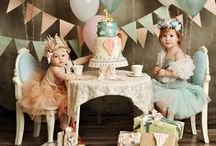 Whimsical Parties / Fun Birthday Party inspiration for girls.