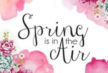 Spring Fun / Spring Inspiration for the girls in your life. Crafts, Food, Games, Decor, DIY Spring fun!