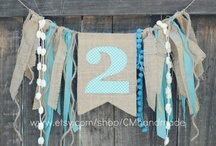 Banners & Bunting & Garland, OH MY! / by Kate Rincon