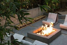 Garden: Outdoor Rooms* Styling*Accessories / Specific garden rooms among landscapes; styling aspects of gardens/landscapes; accessorizing gardens/rooms with all forms: sculpture, art, containers, funky objects ect.  Styling the garden ....  WATER Features;  fireplaces; terraces with unique  features ect. / by Gay Edelson