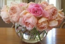 Floral Displays / I love all flowers but roses and peonies are my favorites...
