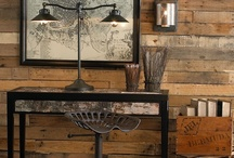 DESIGN: RUSTIC Rough, Modern, Refined, RECLAIMED / Rustic designs and objects/vignettes/furnishings/art/craft. Designs are rough, modern, refined, reclaimed in nature.  From reclaimed wood, barn wood, natural exposure all and any rustic design/ect.