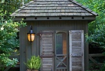 Little Houses-Sheds-Outbuildings,Potting Areas / All kinds of outbuildings: studios, garden buildings, potting sheds-potting benches, & potting rooms; modern, country or eclectic little houses. Conservatories, greenhouses....
