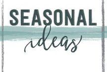 Seasonal Classroom Ideas / Back to School, Holidays, Special School Events