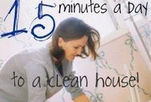 Cleaning / by Jen Yenkel