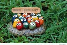 painted stones / just for fun