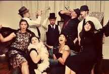 1920's birthday party / Prohibition / Great Gatsby party  / by ashley marie burbul