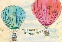 Hot Air Balloon / by Kate Rincon