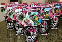 monster high birthday party / Monster High Birthday Party ideas / by ashley marie burbul