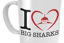 Sea Animal Mugs / Variety of Sea Animal Mugs