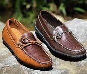 Hand Sewn Shoes / Quality hand sewn footwear embodying Classic American Style.
