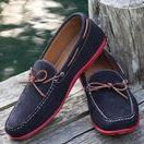 Suede Shoes / Discover the new way to wear red, white & blue with the Navy Suede Verona Driver, or pick a more traditional fall look with the Dirty Buck Suede Spencer Buck.