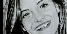 portraits de femmes dessin / dessin femme, portrait #dessin #crayon #pencil #drawing #amazing.je dessine desportaits réalistes au crayon d'aprés vos photos. www.samos17.fr