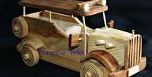 Wooden handmade toys / Деревянные игрушки ручной работы  Wooden handmade toys