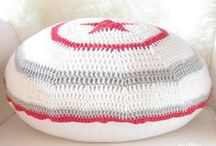 ✻ Chez Athena ✻ Crochet pillows / Home decor * Crochet pillows * Crochet pillow cases