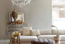 Interior inspiration / Lovely homes, colors and docorating ideas