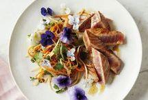 Dishes & Salades with BloomBites / Creëer en varieer eindeloos met eetbare bloemen!