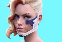 3D キャラクター 女性