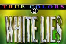 Book ideas WHITE LIES / artwork, inspiration for romantic suspense