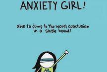 anxiety / hvis man aldrig har været bange har man aldrig været tapper
