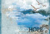 Happy Scrap Arts CT / My layouts for the Happy Scrap Arts Creative team