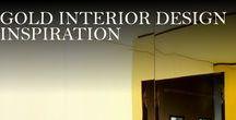 Gold Interior Design Inspirations