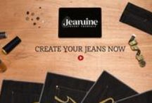 Jeanuine Jeans / Discover what you can create with our Jean Maker application. www.jeanuine.com/jeanmaker
