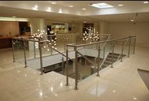 Glass Balustrades / glass balustrades with stainless steel posts
