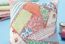 patchwork,pillow,cucito