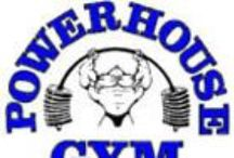 Powerhouse Gym Fitness Clothes / Powerhouse Gym features the well-recognized bent-bar logo.  Powerhouse clothing includes a racerback tanktop, stringer tank, workout shorts, and more.  The Powerhouse shirt and  gym sweatshirt are very popular.  All Powerhouse clothes are in-stock.