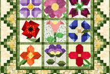"""Quilting - Blocks / Ideas for layouts,colours, how to""""s and little inspirations"""