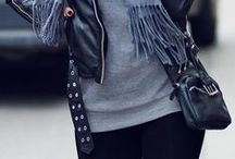 ALL BLACK OUTFITS / Black outfits and style inspirations. Outfits und Styles in schwarz.