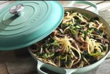 Le Creuset Signature Collection / The latest evolution of its enamelled cast iron cookware, the Le Creuset Signature Cast Iron collection features a stylish new look and a range of design enhancements to offer even better durability and versatility.