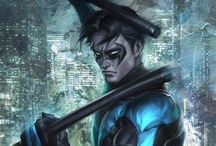 Nightwing ❤️ / Dick Grayson, first Robin, now Nightwing. I love this guy! Super cute!!!  / by Reagan Brown