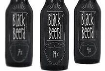 Black Beerd label design