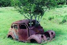Dead cars.