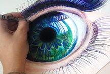 Inspiratie tekenen en schilderen / Creatief - tekenen - schilderen