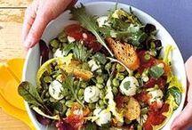 GESUNDE SALATE / The best and healthy salad recipes. Leckere, gesunde und schnelle Salat Rezepte.