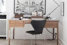 Home Office I Republic of Fritz Hansen / At Republic of Fritz Hansen we are inspired by your interpretations and usage of Fritz Hansen furniture. We are thrilled to see how you style our design classics in your homes. In this board you will find a mix of our own Republic of Fritz Hansen pictures and pictures that we have pinned - in other words: carefully chosen home office interior inspiration from all around the world