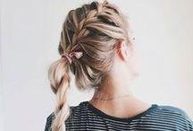 Hair/Cabelos ♡ / Penteados, cores, corte da moda, ideias infinitas!