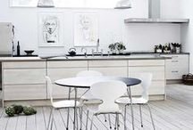Kitchen I Republic of Fritz Hansen / At Republic of Fritz Hansen we are inspired by your interpretations and usage of Fritz Hansen furniture. We are thrilled to see how you style our design classics in your homes. In this board you will find a mix of our own Republic of Fritz Hansen pictures and pictures that we have pinned - in other words: carefully chosen kitchen interior inspiration from all around the world