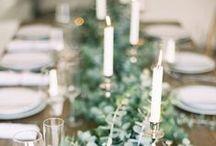TISCH DEKORATION / The best ideas for table decoration. Die schönsten Tischdekorationen.