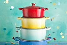 Vida Brazil / Inspired by Brazil's exuberant colours and bold cuisine, the Le Creuset Vida Brazil collection is all about sharing that Latin zest for life with people you love.