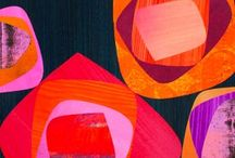Colorful Art Favorites / Colorful artwork that I like including mixed media, collage, paintings.