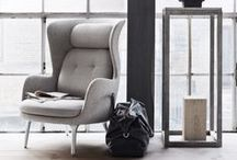 Ro™ I Republic of Fritz Hansen / With Ro™ Jaime Hayon has created a lounge chair that is comfortable and sculptural at the very same time. Ro gives you the opportunity to immerse yourself - and have a moment to yourself.
