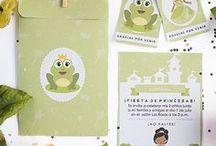 Ideas Tiana y el sapo / Imprimible para invitación - cumpleaños la princesa y el sapo, invitación, etiquetas y sobre