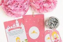 Fiesta - Princesa Aurora / Imprimible para invitación - cumpleaños princesa Aurora, invitación, etiquetas y sobre