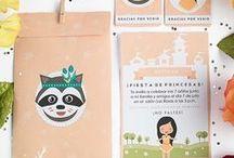 Fiesta - Pocahontas / Imprimible para invitación - cumpleaños Pocahontas, invitación, etiquetas y sobre