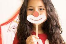 Fiesta temática de circo - imprimibles / Ideas e imprimibles para celebrar una fiesta temática de #circo